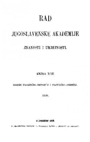 Knj. 23(1888) : RAD