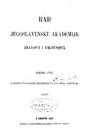 Knj. 34(1892) : RAD