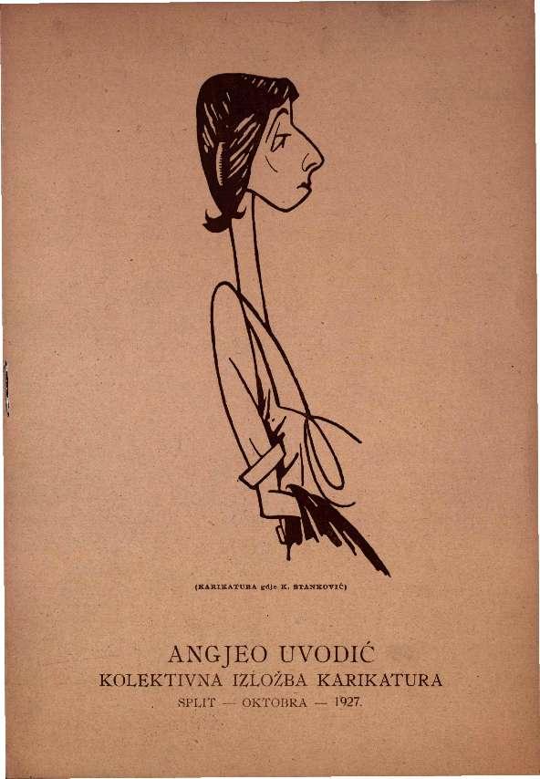 Angjeo Uvodić - kolektivna izložba karikatura