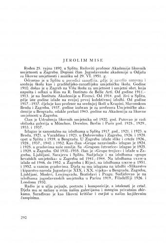 Jerolim Miše