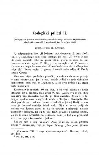 Zoologički prilozi II.