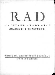 Knj. 5 (1942) : RAD