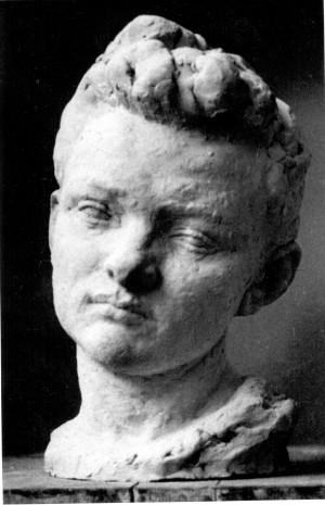 Bakić, Vojin(1915-1992): Model za Studiju glave [Bauer, Antun(1911-2000)]