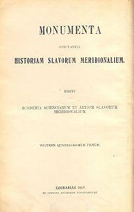 Knj. 4 : Od godine 1578. do godine 1608. Dodatak od 1573. - 1605. : Monumenta spectantia historiam Slavorum meridionalium