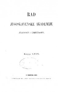 Knj. 27(1874) : RAD