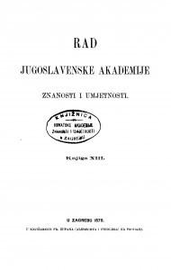 Knj. 13(1870) : RAD