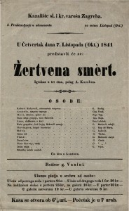 Žertvena smert Igrokaz u tri čina / polag A. Kocebua