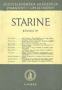 Knj. 57(1978) : Starine