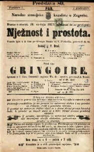 Nježnost i prostota Vesela igra u 2 čina / po Georgu Sandu od V. Friderika