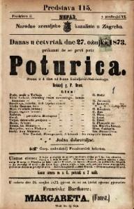 Poturica Drama u 4 čina / od Ivana Kukuljević-Sakcinskoga