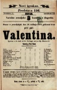 Valentina Igrokaz u 5 činah / od G. Freitaga