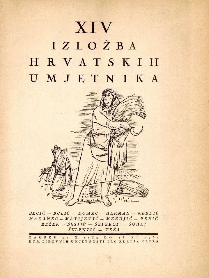 XIV izložba hrvatskih umjetnika