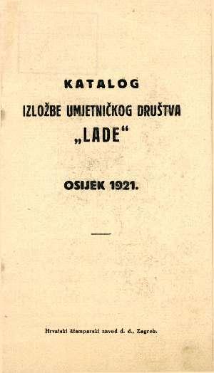 Katalog izložbe umjetničkog društva Lade