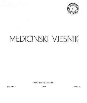 Sv. 1, br. 1(1969) : Medicinski vjesnik