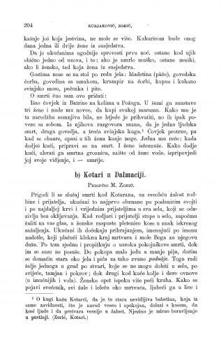 Kotari u Dalmaciji : smrt : Zbornik za narodni život i običaje