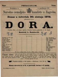 Dora parižka slika u 5 činah / napisao Victorin Sardou