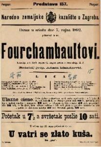 Fourchambaultovi Komedija u 5 činah / napisao E. Augier