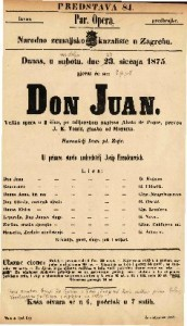 Don Juan Velika opera u 2 čina / na talijanskom napisao Abate de Ponte