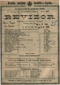 Revizor : šaljiva igra u pet činova / od N. V. Gogolj