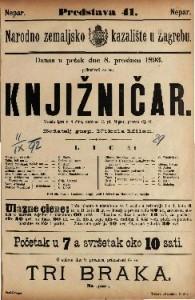Knjižničar Vesela igra u 4 čina / napisao G. pl. Moser