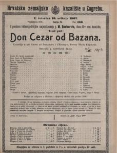 Don Cezar od Bazana komedija u pet činova