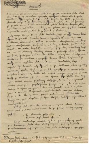 Pjesme Ivana Brlić-Mažuranić: Slike. (Pjesme 1912. Tiskara i litografija D. Albrechta, Zagreb.)