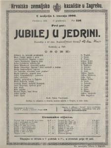 Jubilej u jedrini komedija u tri čina / napisao Mihael Gorski