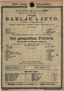Bablje ljeto : Komedija u jednom činu / od Meilhaca i Halévya