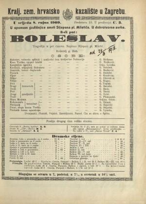 Boleslav Tragedija u 5 činova