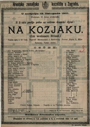 Na Kozjaku vesela igra u tri čina / napisali Blumenthal i Kadelburg