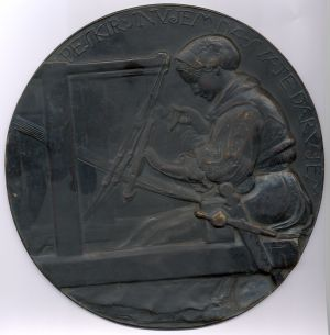 Nagradna medalja ženske udruge (Za stanom)