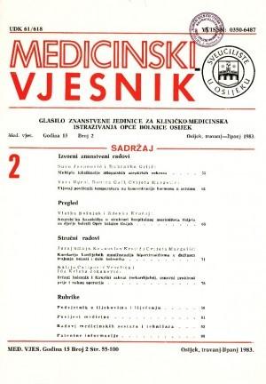 God. 15, br. 2(1983) : Medicinski vjesnik
