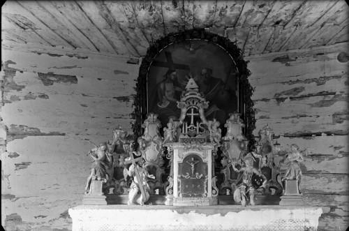 Kapela Presvetog Trojstva (Gladovec Pokupski) : glavni oltar