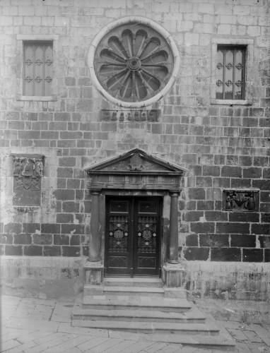 Crkva Svetog Franje (Senj) : pročelje [Griesbach, Đuro  ]
