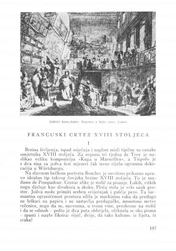 Francuski crtež XVII stoljeća : Bulletin Zavoda za likovne umjetnosti Jugoslavenske akademije znanosti i umjetnosti