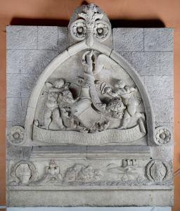 Portal kneževa dvora na Pagu