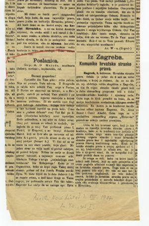 Poslanica gosp. A. G. Matošu, muzikantu (čelisti), novinaru, književniku itd.