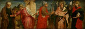 Pet apostola