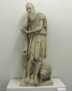 Sveti Jeronim u niši Andrija Aleši
