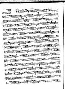 VIIIme concerto : viola
