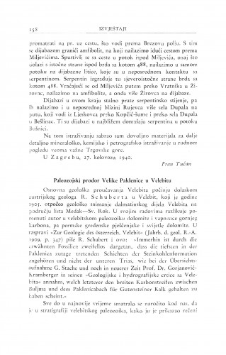 Paleozojski prodor Velike Paklenice u Velebitu / M. Salopek