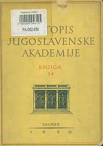 Za godine 1946-1948. Knj. 54 : Ljetopis