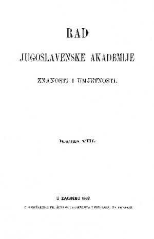 Knj. 8(1869) : RAD