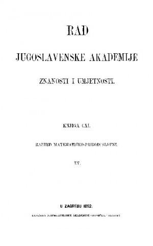 Knj. 15(1892) : RAD
