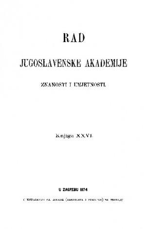 Knj. 26(1874) : RAD