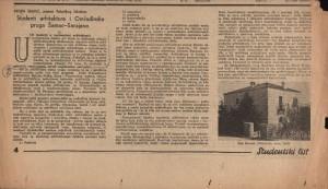 Studenti arhitekture i Omladinska pruga Šamac-Sarajevo 2 : Studentski list