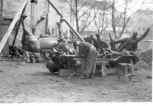 Augustinčić, Antun (1900-1979) : Proces izrade spomenika Palim Nišlijama
