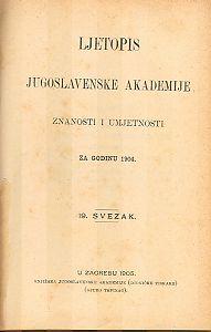 Za godinu 1904. Sv. 19 : Ljetopis
