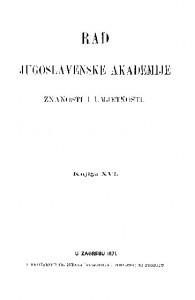 Knj. 16(1871) : RAD