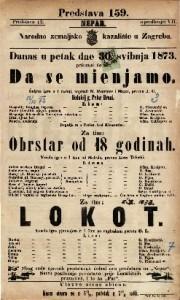 Da se mienjamo Šaljiva igra u 1 radnji ; Vesela igra u 1 činu / napisali N. Fournier i Majer ; od Melvila